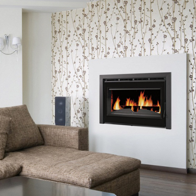 Bronpi Madrid Vision 19Kw Wood Burning Inset