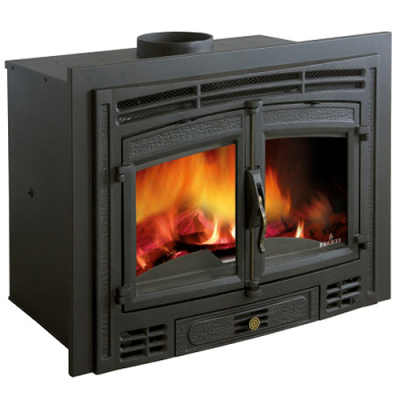 Bronpi Madrid Rustico 19Kw Wood Burning Inset
