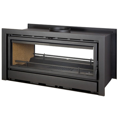 Bronpi Kenia 110D 23Kw Double Sided Wood Burning Inset