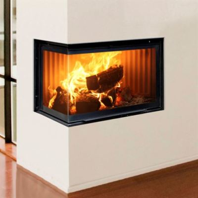 Hergom ECK 13Kw Built-In Corner Wood Burner