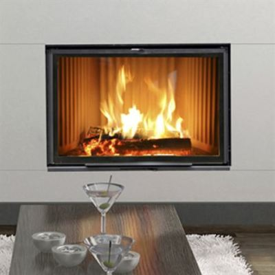 Hergom Stilkamin S-460  17.5Kw Built-In Wood Burner