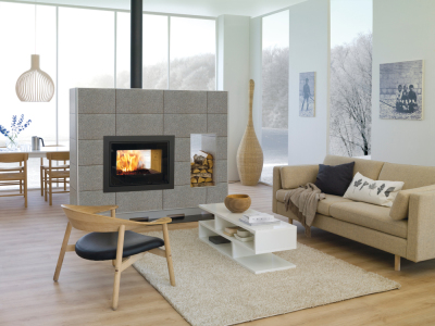 Scan Dsa 12 12Kw Built-In Wood Burner