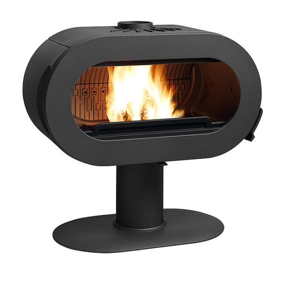 Fifty Pedestal 10Kw Wood Burner