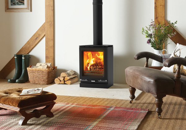 Vogue Small 5Kw Wood Burner