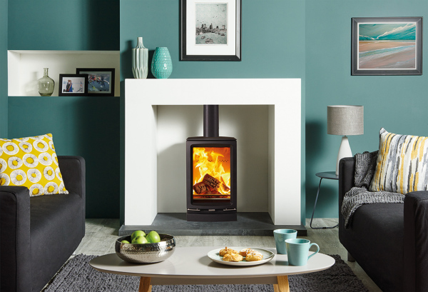 Vogue Small T 5Kw Wood Burner
