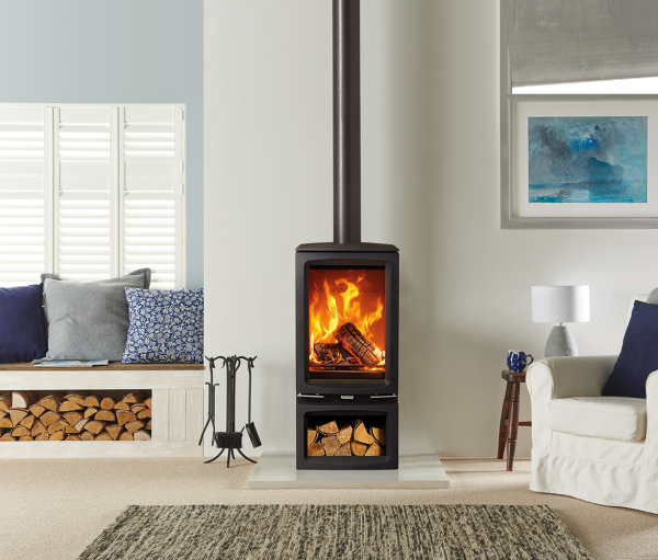 Vogue Midi T 5Kw Wood Burner