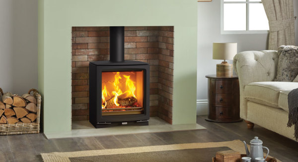 Vogue Medium 7Kw Wood Burner