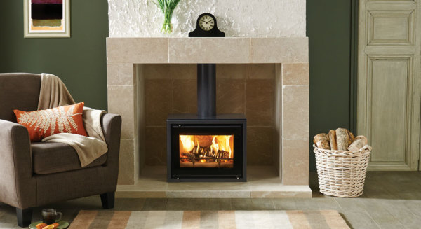 Studio 500 Freestanding 5Kw Wood Burner