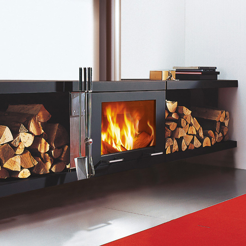 Balance 7.6Kw Wall Mounted Wood Burner