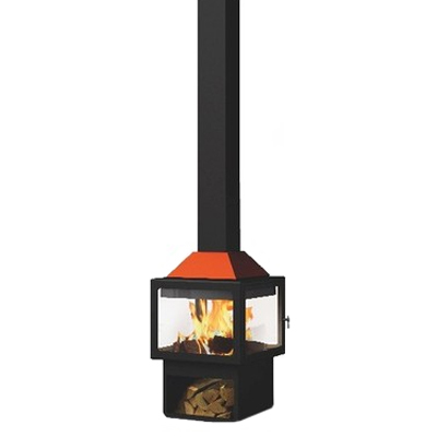 Traforart Ariadna Central 14.4Kw Wood Burner