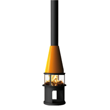 Traforart Arlet Low Central 14.4Kw Wood Burner