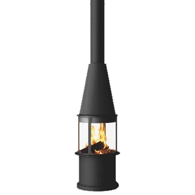 Traforart Arlet High Central 14.4Kw Wood Burner