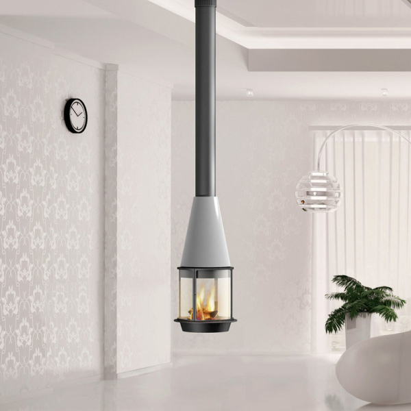 Traforart Arlet High Suspended 14.4Kw Wood Burner