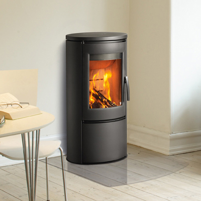 Varde Ovne Shape Steel 2 6Kw Wood Burner
