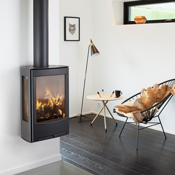 Wiking Miro 1 8Kw Wall Mounted Wood Burner