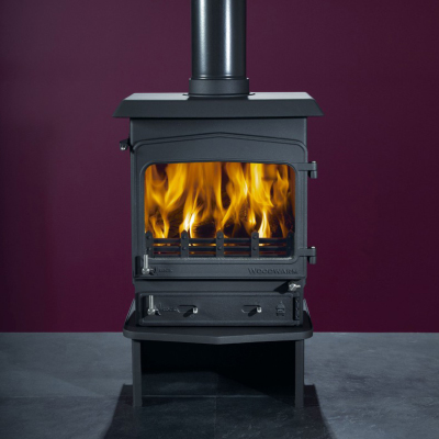 Woodwarm Fireview 5 Slender 5Kw Multi Fuel