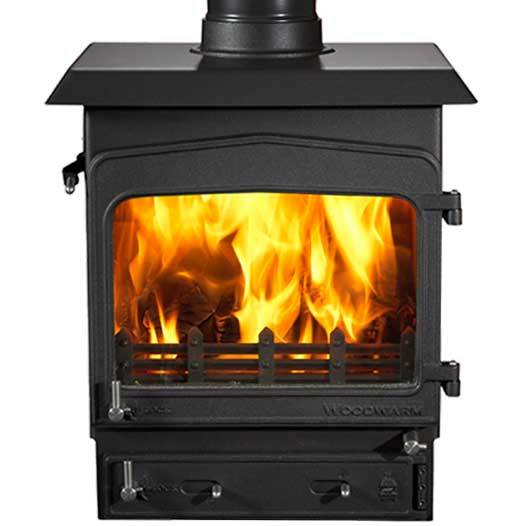 Woodwarm Fireview 6 6Kw Multi Fuel