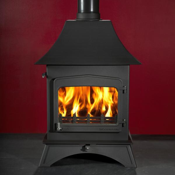 Woodwarm Wildwood 9 9Kw Wood Burner