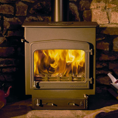 Woodwarm Fireview 7 Slender 7Kw Multi Fuel