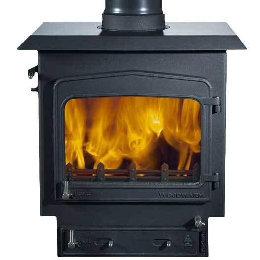 Woodwarm Fireview 9 9Kw Multi Fuel