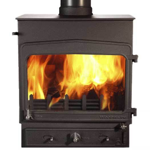 Woodwarm Fireview 10 Slender 10Kw Multi Fuel