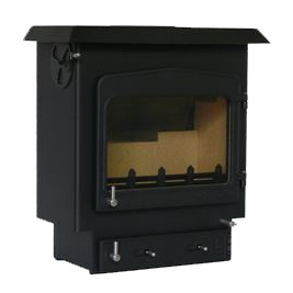 Woodwarm Fireview 14 Slender 14Kw Multi Fuel