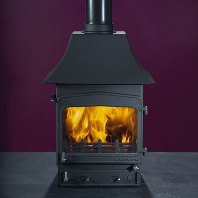 Woodwarm Fireview 6 9Kw Double Sided Multi Fuel