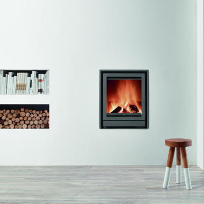 Fogo Montanha Highline E560H 8.8Kw Wood Burning Inset
