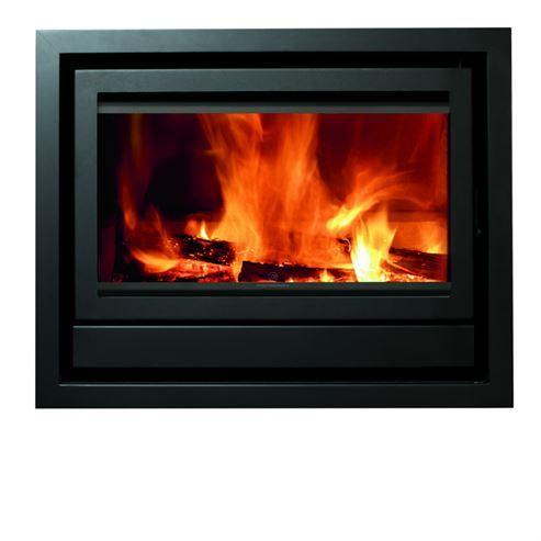 Fogo Montanha  Flatline E800F 11.2Kw Wood Burning Inset