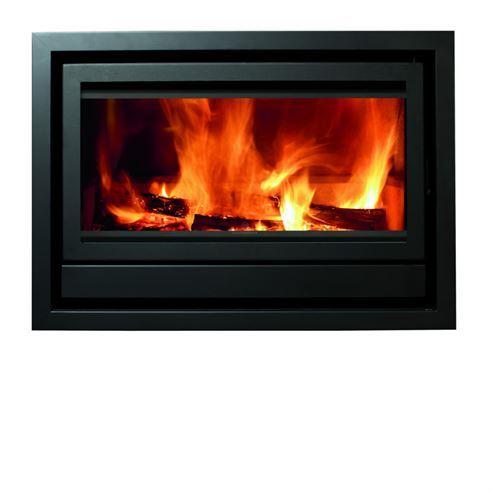 Fogo Montanha Flatline E900F 11Kw Wood Burning Inset