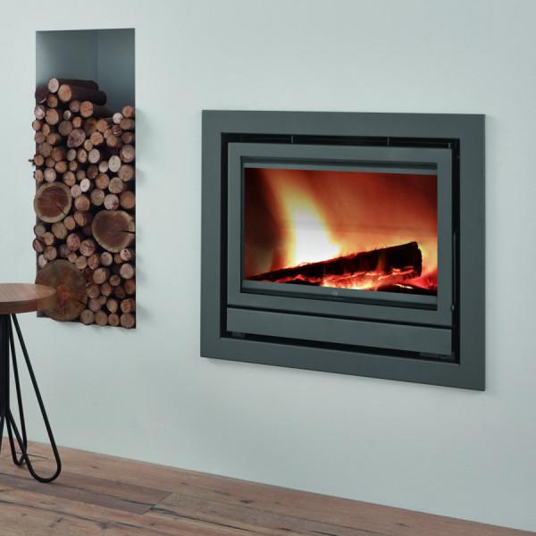 Fogo Montanha Classic E800 11.2Kw Wood Burning Inset