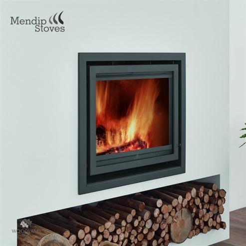 Mendip Christon 600 8.4Kw Wood Burning Inset