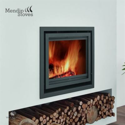 Mendip Christon 600 8.4Kw Wood Burning Inset