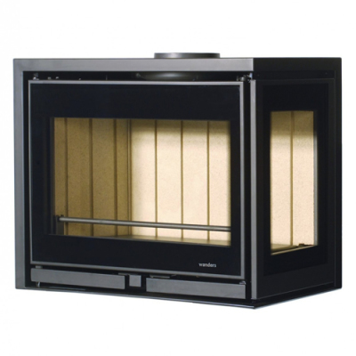 Wanders Square 60LR 7Kw Wood Burning Inset