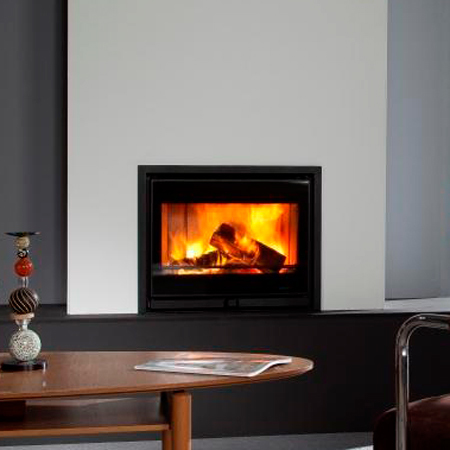 Wanders Square 75 Front 9Kw Wood Burning Inset