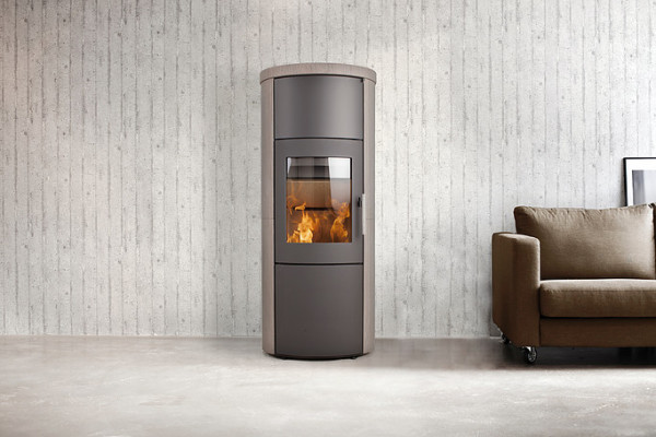 Heta Scanline 820 6Kw Wood Burner