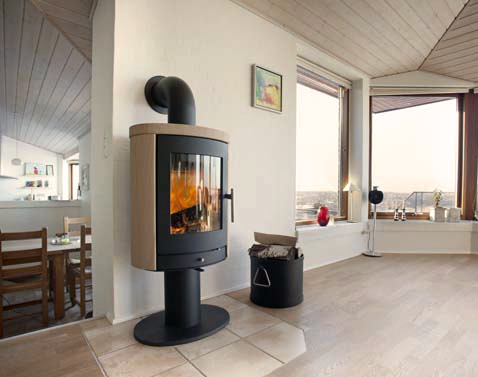 Heta Scanline 850 6Kw Wood Burner