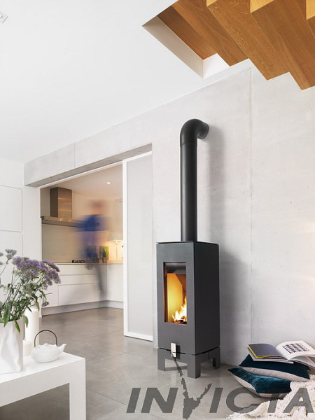 Invicta Wabi 6Kw Wood Burner
