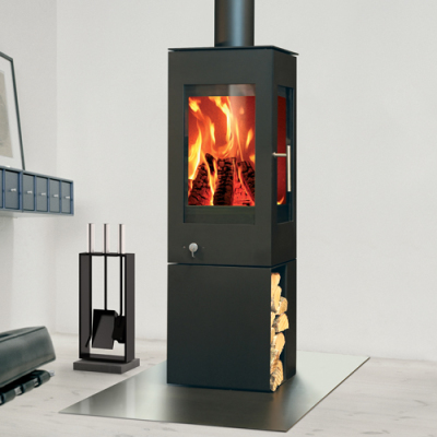 Rais Q-Bic 127 6Kw Wood Burner