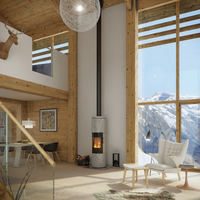 Rais Juno 150 6Kw Wood Burner