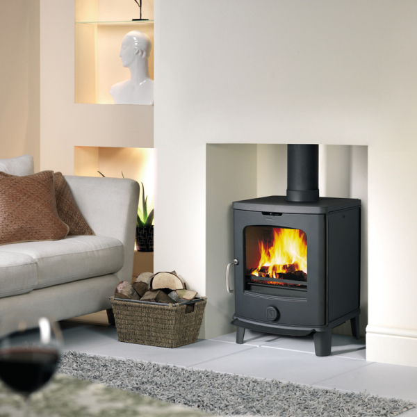 Scan Anderson 4-5 6Kw Wood Burner