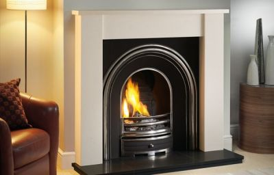 "The Appledore 48"" in Agean Limestone"