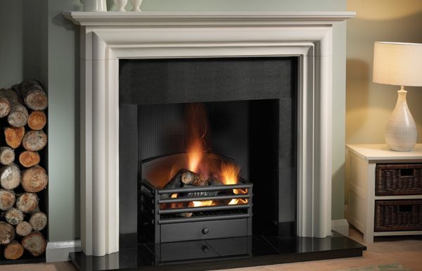 """The Colby 55"""" in Agean Limestone"""