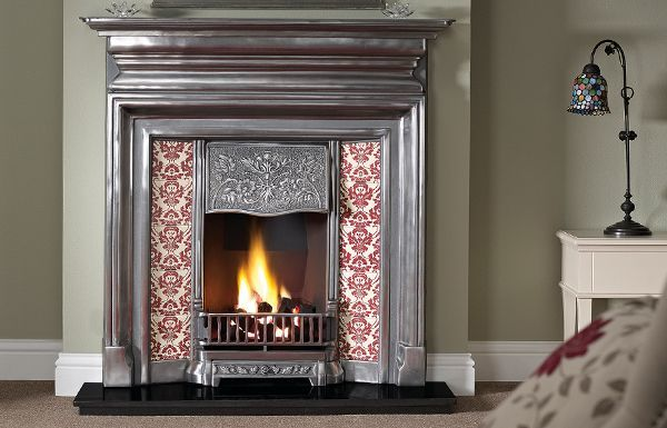 "The Langley 48"" Full Polished Cast Iron"