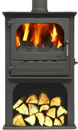 Dunsley Heat Highlander 7 Enviroburn Logstore 7Kw Multi Fuel