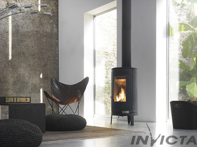 Invicta Okino 7Kw Wood Burner