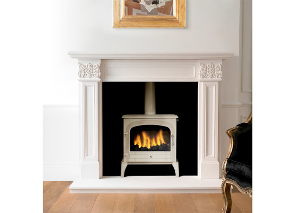 Acquisition Bloomsbury SE Ivory 8Kw Multi Fuel