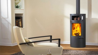 Austroflamm Uno Back 9Kw Wood Burner