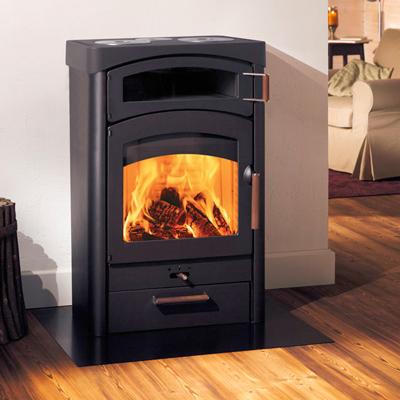 Austroflamm Pallas Back 13Kw Wood Burner