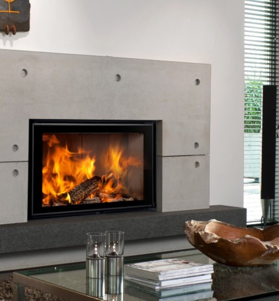 Energa 80/50 20Kw Built-In Wood Burner